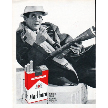 "1962 Marlboro Cigarettes Ad ""You get a lot to like"""
