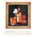 "1962 Seagram's Whiskey Ad ""Reward well-earned"""