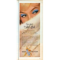 "1962 Max Factor Ad ""the Soft Look"""