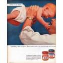 """1962 Swift's Premium Meats Ad """"Upsa-daisy"""""""