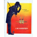 "1962 I.W. Harper Bourbon Whiskey Ad ""always a pleasure"""