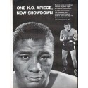 "1961 Floyd Patterson and Ingemar Johansson Article ""One K.O. Apiece"""
