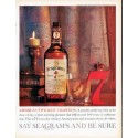 """1961 Seagram's Whiskey Ad """"Twilight Tradition"""""""