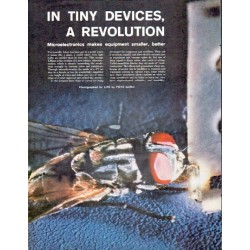 "1961 Microelectronics Article ""Tiny Devices"""