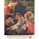 """1961 Pepsi-Cola Ad """"for those who think young"""""""