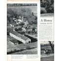 "1961 Kennedys Article ""Horsy Hideaway"""