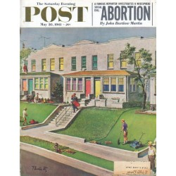 1961 Saturday Evening Post Cover Page ... May 20, 1961