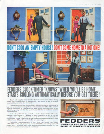 1961 Fedders Air Conditioner Vintage Ad Quot Don T Cool An