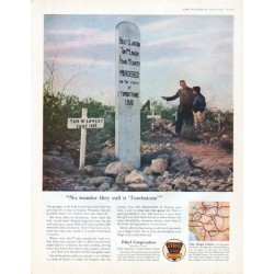 "1961 Ethyl Corporation Ad ""Tombstone"""