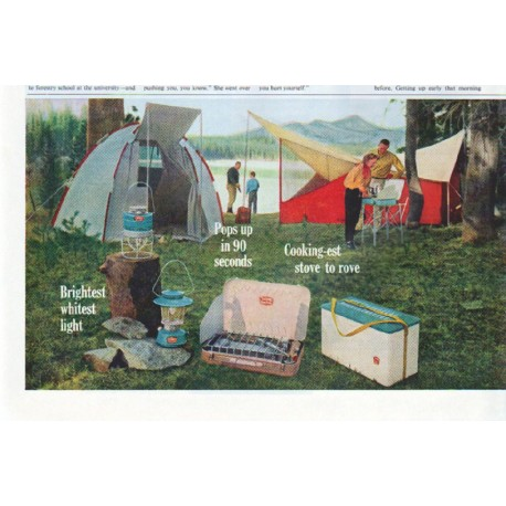 """1961 Thermos Ad """"Camp and Picnic"""""""