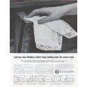 """1961 Edison Electric Institute Ad """"flameless electric house heating"""""""