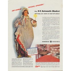 "1942 General Electric Ad ""Stop Hoarding Petticoats, Sophonisba!"""