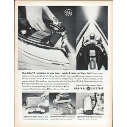 "1961 General Electric Ad ""New idea"""