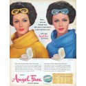 "1961 Pond's Angel Face Ad ""change your skin tone"""