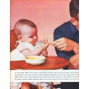 "1961 Swift's Premium Meats Ad ""Meats for Babies"""