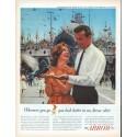"""1961 Arrow Shirt Ad """"Wherever you go"""""""