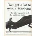 "1961 Marlboro Cigarettes Ad ""You get a lot to like"""