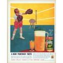 """1961 Tang Breakfast Drink Vintage Ad """"New Punchier Taste"""""""