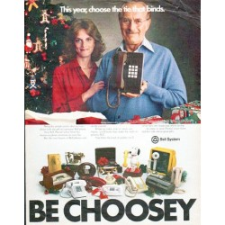 """1979 Bell System Ad """"the tie that binds"""""""