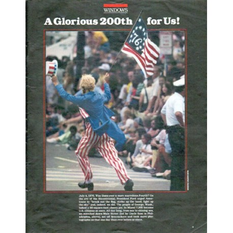 1979 Bicentennial Article ... A Glorious 200th for Us!