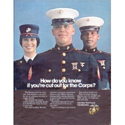 "1979 Marine Corps Ad ""How do you know"""
