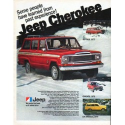 "1980 Jeep Ad ""Some people have learned"""