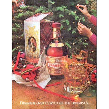 "1979 Drambuie Liqueur Ad ""Drambuie over ice"""