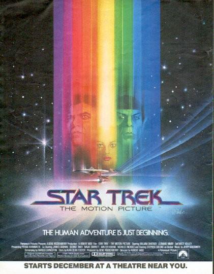 star trek vintage ad  motion picture