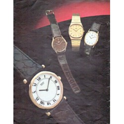 "1979 Seiko Watch Ad ""Seiko Dress Quartz Collection"""
