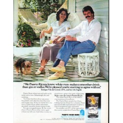 "1979 Puerto Rican Rums Ad ""We Puerto Ricans"""