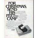 """1979 Camp Socks Ad """"For Christmas"""""""