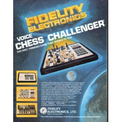 "1979 Fidelity Electronics Ad ""Chess Challenger"""