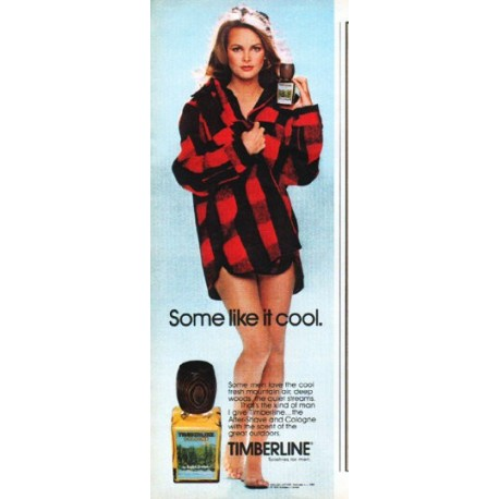 "1979 English Leather Cologne Ad ""Some like it cool"""