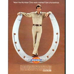 "1979 Dickies Ad ""Number One"""