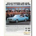"1980 Oldsmobile Ad ""Cutlass watchers"""