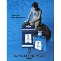"1979 Royal Copenhagen Ad ""The ultimate"""