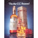 "1979 Canadian Club Whisky Ad ""Tis the C.C. Season"""