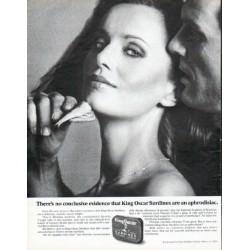 "1979 King Oscar Sardines Ad ""no conclusive evidence"""