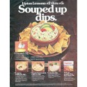 "1979 Lipton Soup Ad ""Souped up dips"""