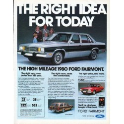 "1980 Ford Ad ""The right idea"""