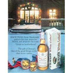 "1979 Dewar's Scotch Whisky Ad ""Ewan Macdonald"""