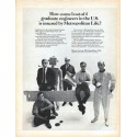 "1966 Metropolitan Life Insurance Ad ""1 out of 4"""