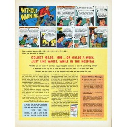 """1966 American Republic Insurance Ad """"Without Warning"""""""