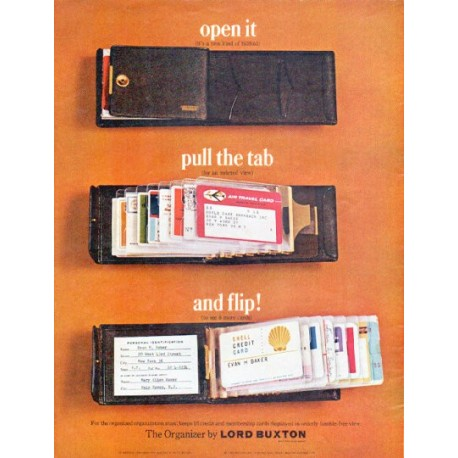 "1966 Lord Buxton Ad ""open it"""