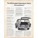 "1966 Volkswagen Ad ""Squareback Sedan"" ... (model year 1966)"