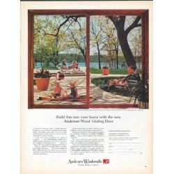 """1966 Andersen Windowalls Ad """"Build fun"""""""