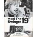 "1966 Polaroid Ad ""meet The Swinger"""