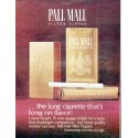 "1966 Pall Mall Cigarettes Ad ""the long cigarette"""