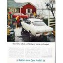 "1966 Buick Opel Ad ""two-car family"""