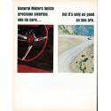 "1966 General Motors Ad ""precision steering"""